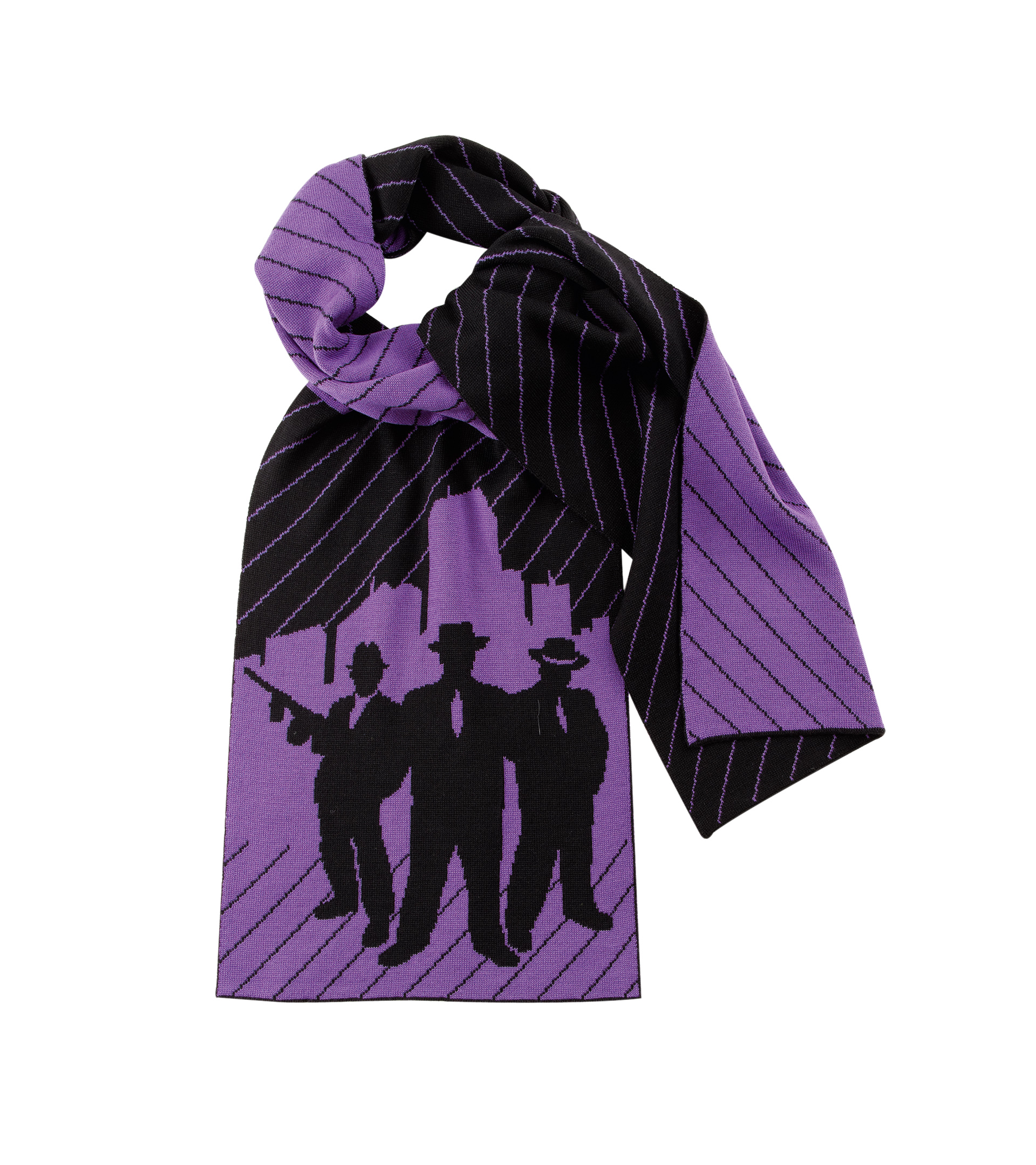 Uppercase Chicago Outfit Pirate Black Magic Purple